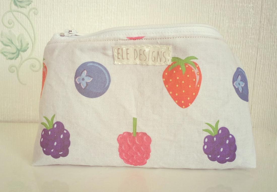 Berry print ELE bag on the Etsy shop!