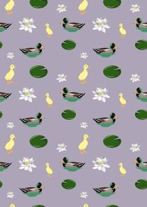 duckyprinta4purple