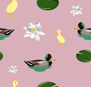 duckyprintpink