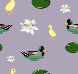 duckyprintpurple